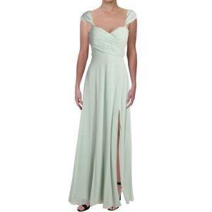 Sequin Hearts Mint Green Formal Dress